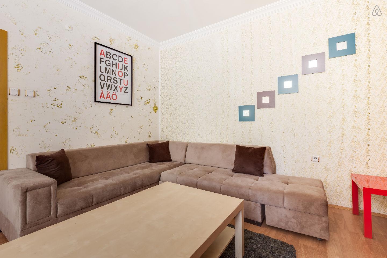 ankara lüks manzaralı kızılay yüksek residans residence kiralık ev cankaya 2 + 1 yeni