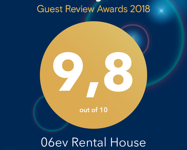 booking.com award winner 06ev Rental House